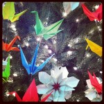 Origami tree Japantown