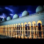 Grand Mosque Abu Dhabi Emirates