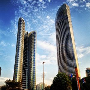 Abu Dhabi Emirates City Architecture